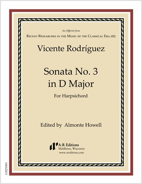 Rodríguez: Sonata No. 3 in D Major