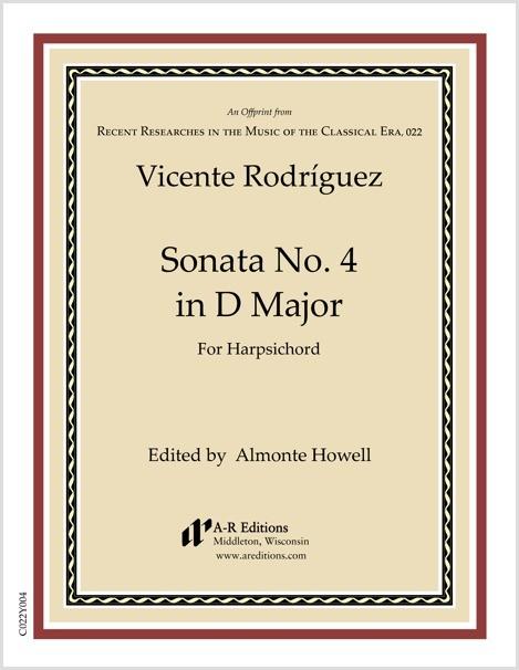 Rodríguez: Sonata No. 4 in D Major