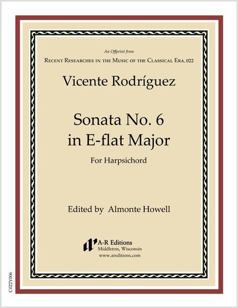 Rodríguez: Sonata No. 6 in E-flat Major