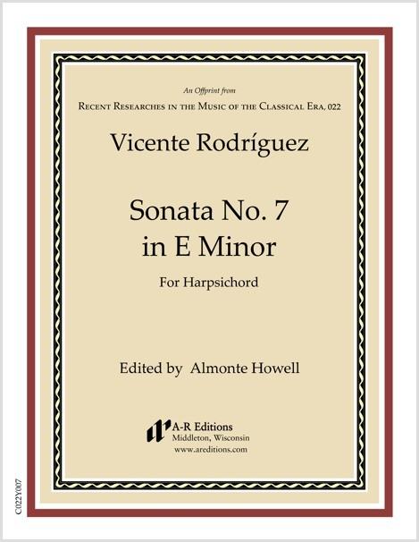 Rodríguez: Sonata No. 7 in E Minor