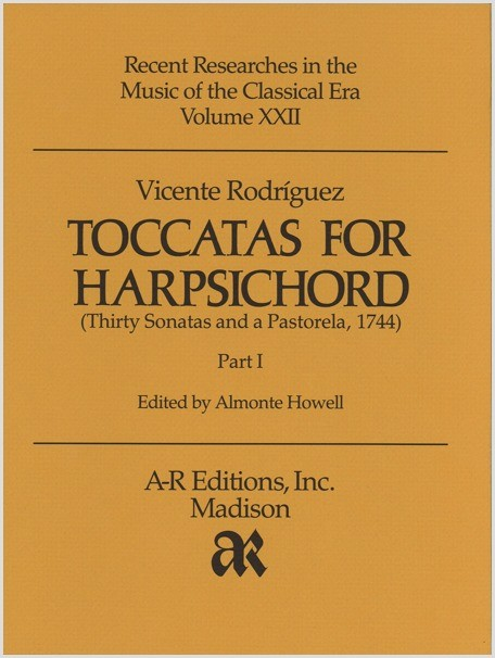 Rodríguez: Toccatas for Harpsichord, Part 1