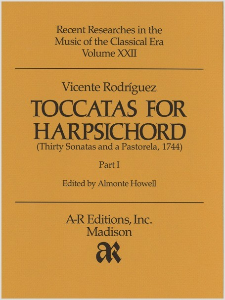 Rodríguez: Toccatas for Harpsichord