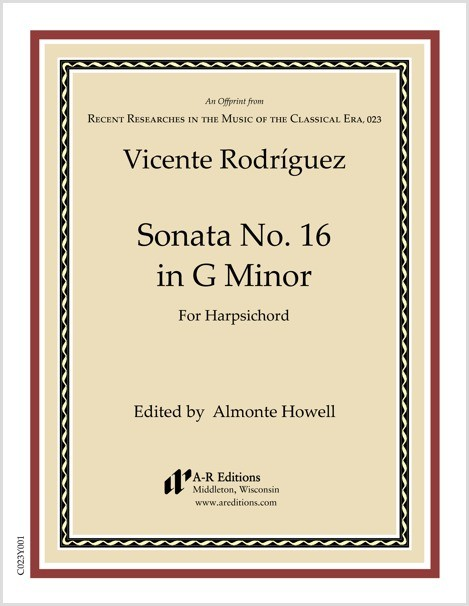 Rodríguez: Sonata No. 16 in G Minor