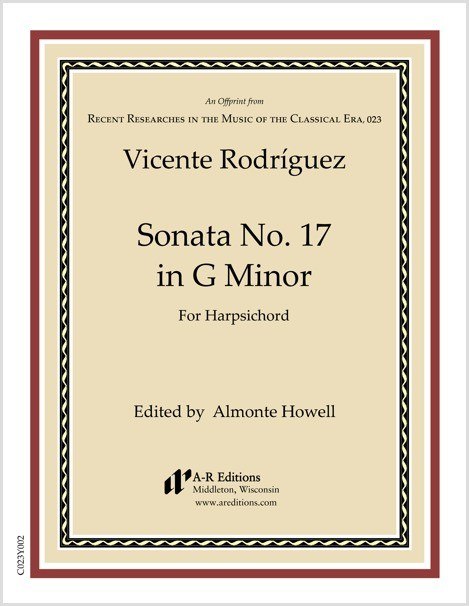Rodríguez: Sonata No. 17 in G Minor