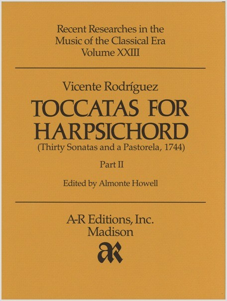 Rodríguez: Toccatas for Harpsichord, Part 2