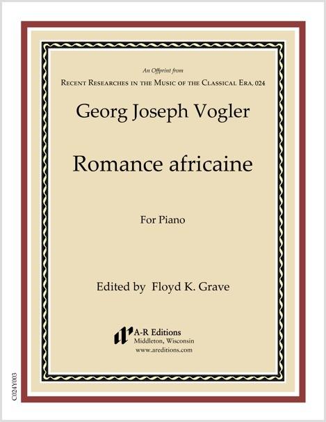 Vogler: Romance africaine