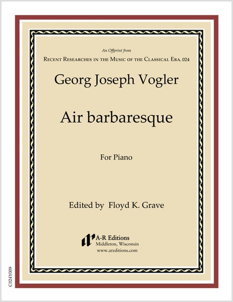 Vogler: Air barbaresque