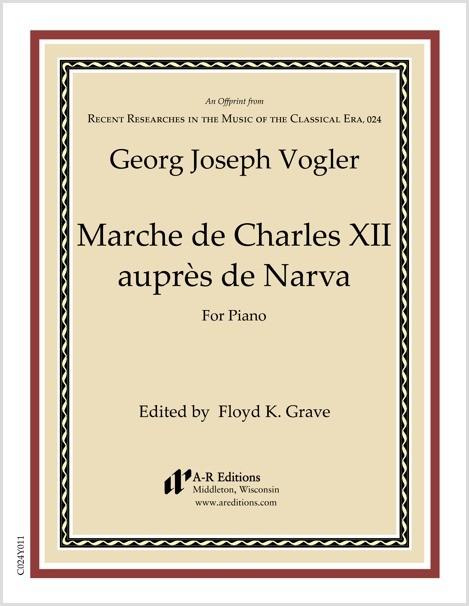 Vogler: Marche de Charles XII auprès de Narva