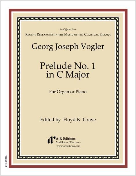 Vogler: Prelude No. 1 in C Major
