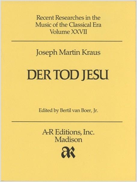 Kraus: Der Tod Jesu