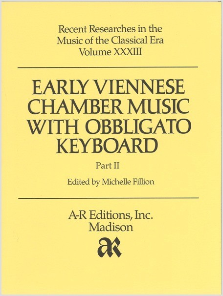 Early Viennese Chamber Music with Obbligato Keyboard, Part 2