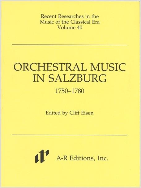 Orchestral Music in Salzburg, 1750–1780