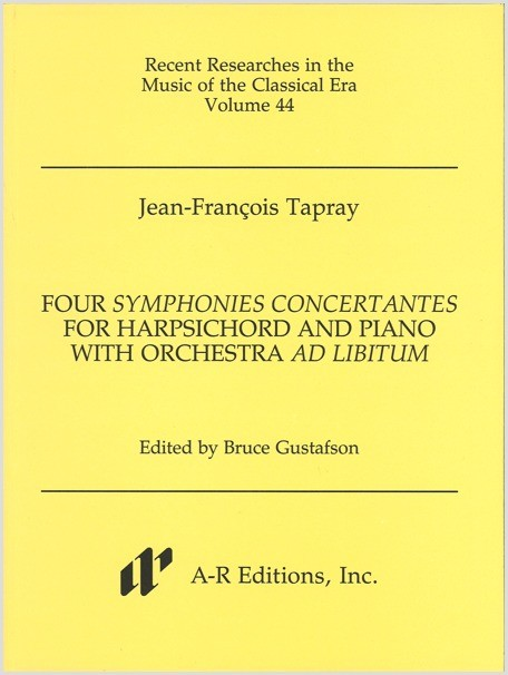 Tapray: Four Symphonies concertantes for Harpsichord and Piano with Orchestra ad libitum