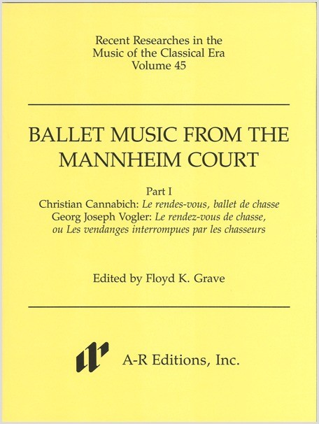 Ballet Music from the Mannheim Court, Part 1