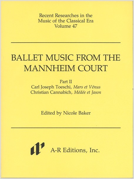 Ballet Music from the Mannheim Court, Part 2
