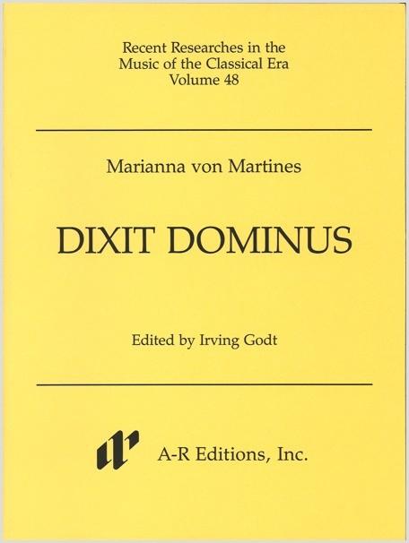 Martines: Dixit Dominus