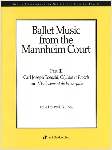 Ballet Music from the Mannheim Court, Part 3