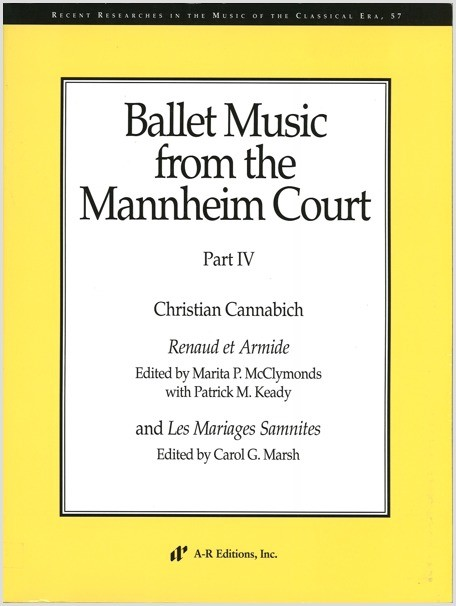 Ballet Music from the Mannheim Court, Part 4