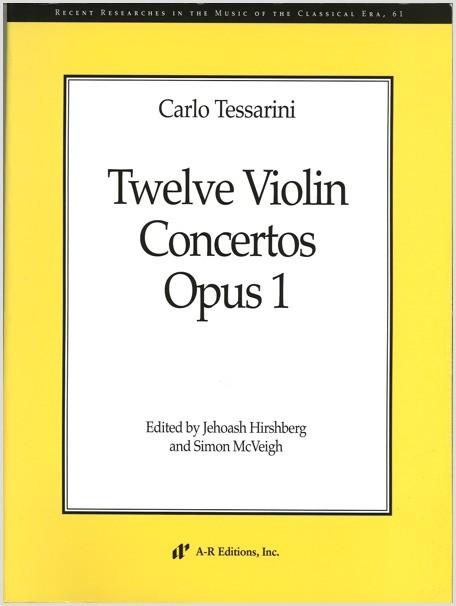 Tessarini: Twelve Violin Concertos, Op. 1