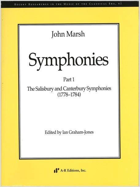Marsh: Symphonies, Part 1
