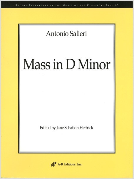Salieri: Mass in D Minor