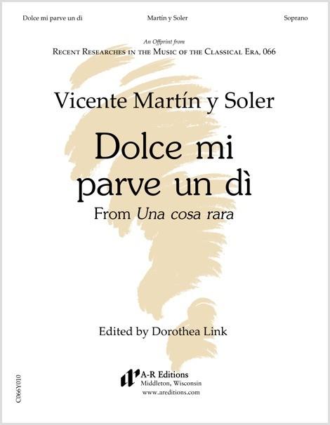 Martín y Soler: Dolce mi parve un dì