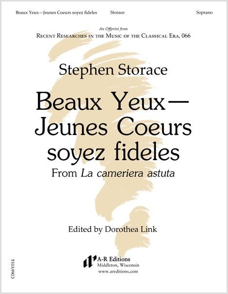 Storace: Beaux Yeux—Jeunes Coeurs soyez fideles