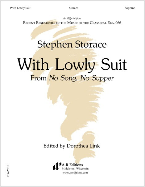 Storace: With Lowly Suit