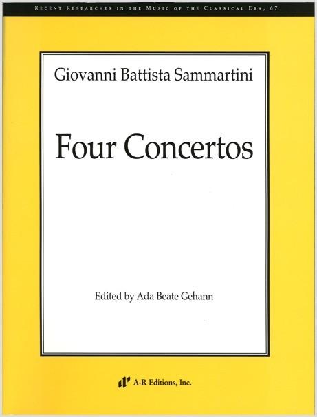 Sammartini: Four Concertos