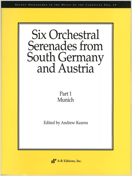 Six Orchestral Serenades from South Germany and Austria, Part 1