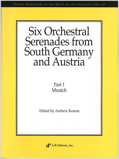 Six Orchestral Serenades from South Germany and Austria
