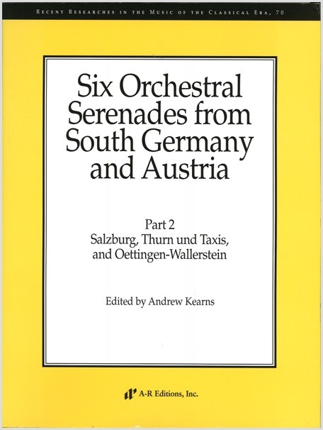 Six Orchestral Serenades from South Germany and Austria, Part 2