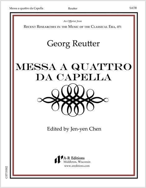 Reutter: Messa a quattro da Capella