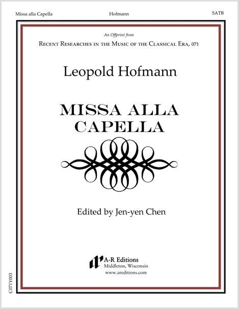 Hofmann: Missa alla Capella