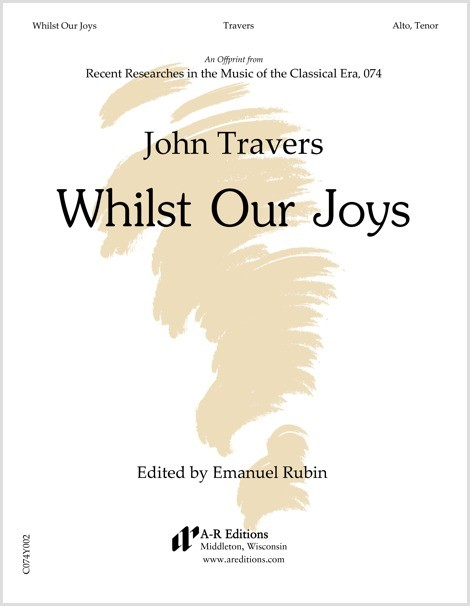 Travers: Whilst Our Joys