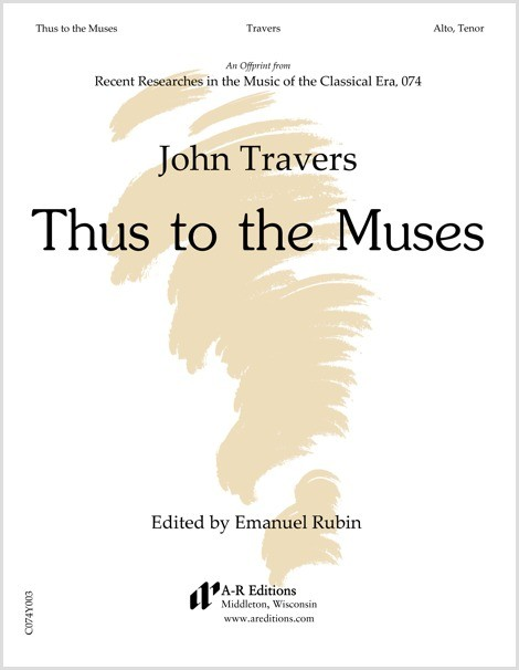 Travers: Thus to the Muses