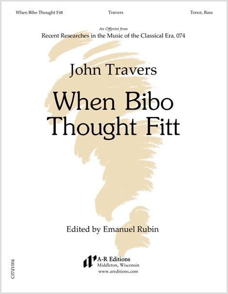 Travers: When Bibo Thought Fitt