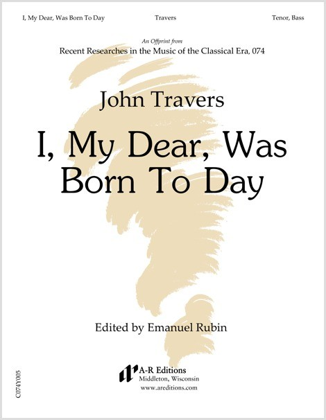 Travers: I, My Dear, Was Born To Day