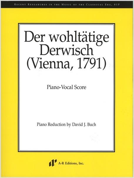 Der wohltätige Derwisch (Piano-Vocal Score)