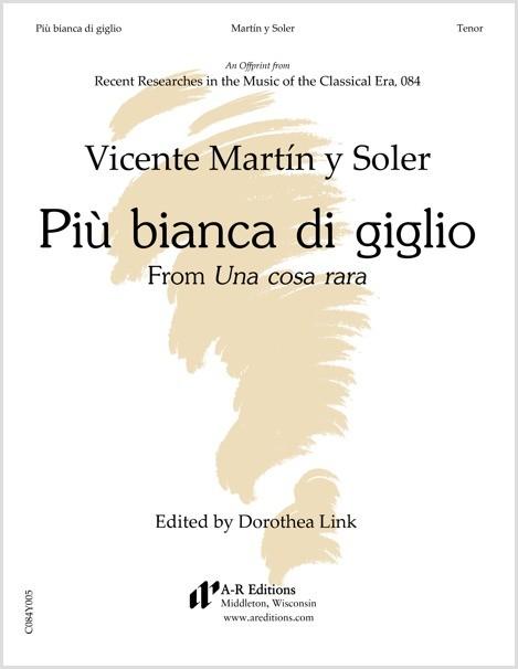 Martín y Soler: Più bianca di giglio