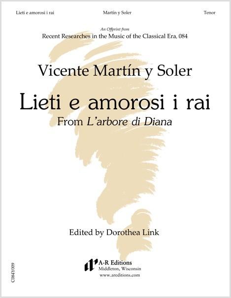 Martín y Soler: Lieti e amorosi i raI rai