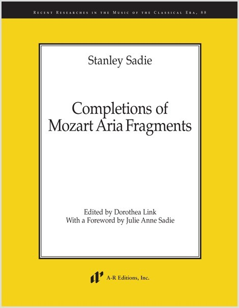 Sadie: Completions of Mozart Aria Fragments