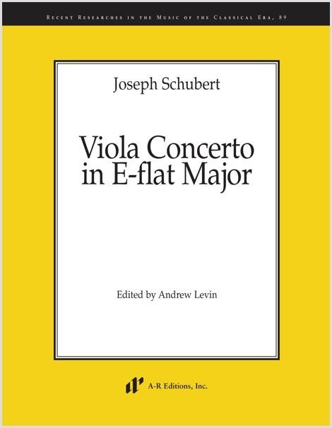 Schubert: Viola Concerto in E-flat Major