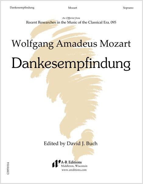 Mozart: Dankesempfindung