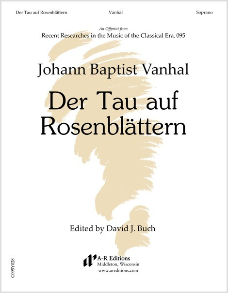 Vanhal: Der Tau auf Rosenblättern