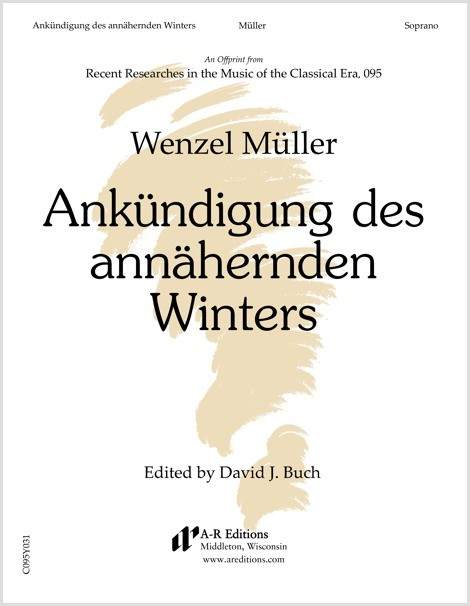 Müller: Ankündigung des annähernden Winters