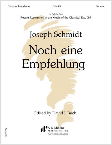 Schmidt: Noch eine Empfehlung