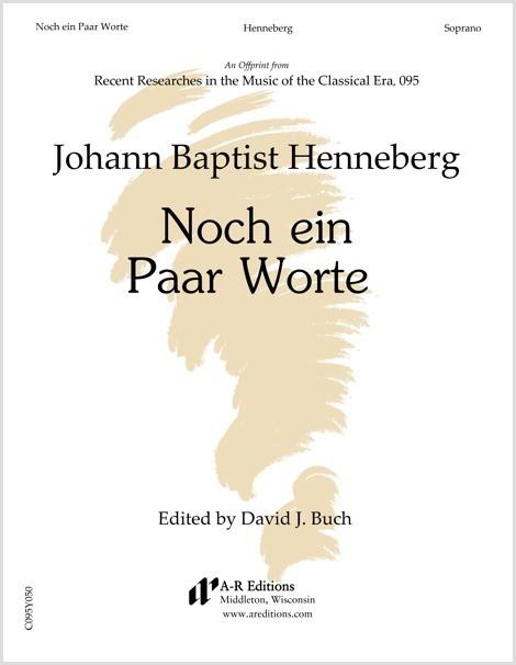 Henneberg: Noch ein Paar Worte