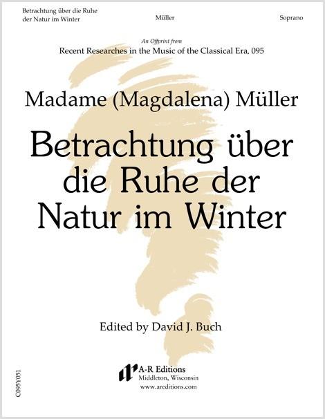 Müller: Betrachtung über die Ruhe der Natur im Winter