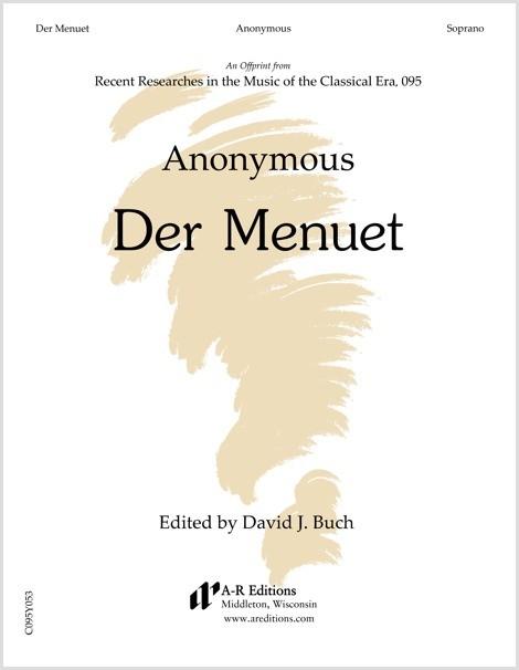 Anonymous: Der Menuet